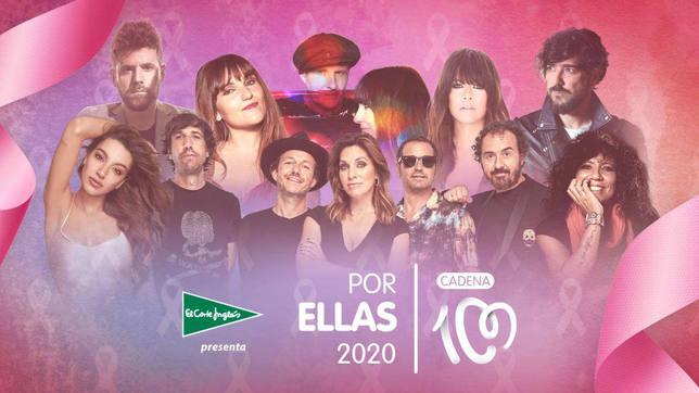"""'La vida es bonita' de Rosana, canción oficial """"Cadena 100 Por ellas"""" 2020"""
