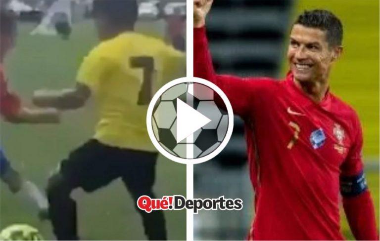 Cuando te crees Cristiano Ronaldo ¡Y lo logras!