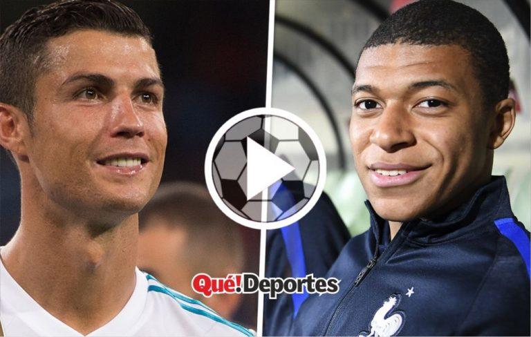 ¿Qué le dijo Cristiano Ronaldo a Kylian Mbappé? ¡Qué reacción del francés!