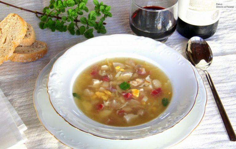 Cómo hacer paso a paso una sopa de picadillo llena de nutrientes