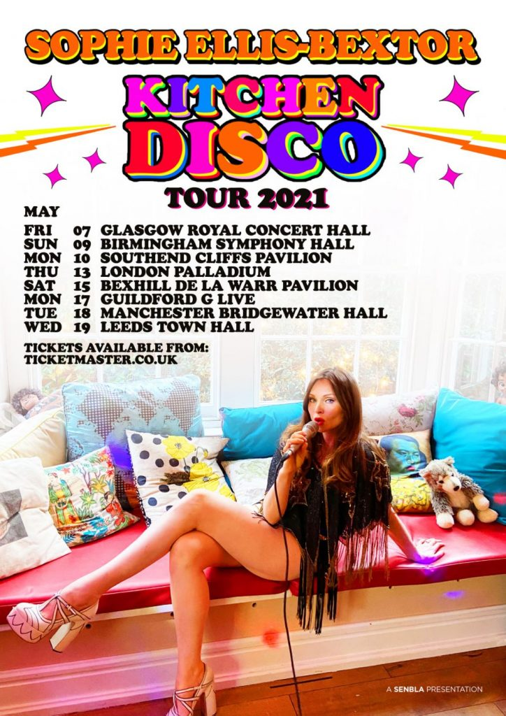 sophie ellis-bextor songs from the kitchen disco Kicthen tour 2021