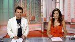 Jorge Javier Vázquez y Carmen Alcayde en 'Aquí hay tomate' Sálvame