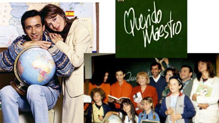 Querido maestro, la serie que nos hizo desear a un profesor como Imanol Arias