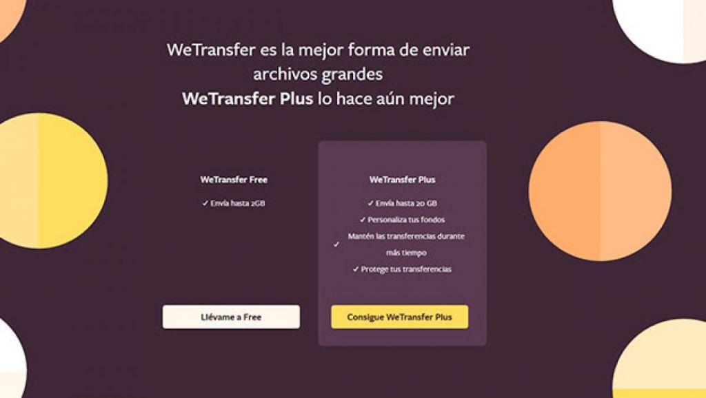Qué es Wetransfer