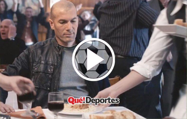 Cuando Zidane celebró un gol y casi lo matan