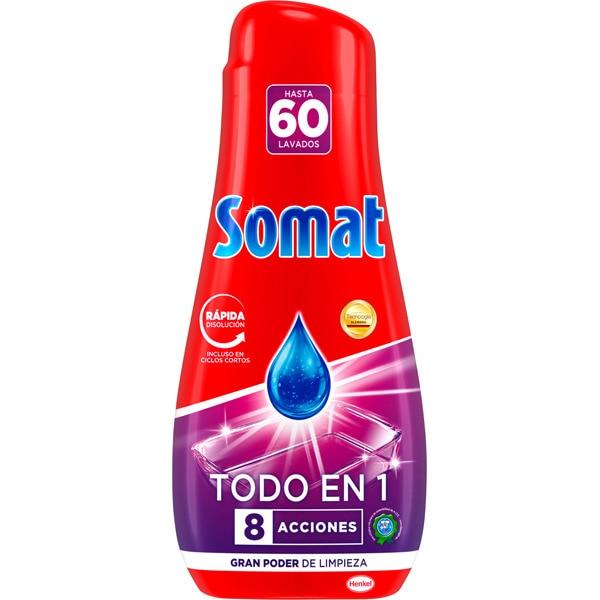 Somat 8. Los mejores detergentes para lavavajillas por menos de 10 euros