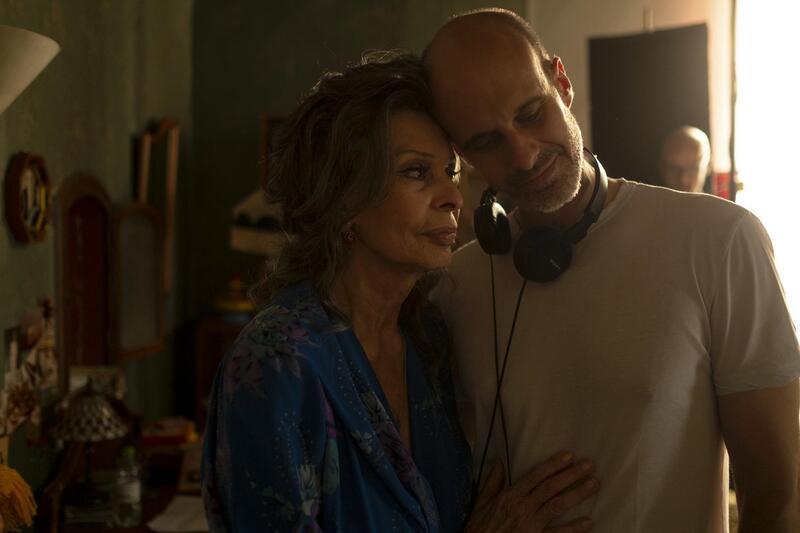 Sophia Loren vuelve al cine con su hijo Edoardo, con quien tiene «un alma en común»