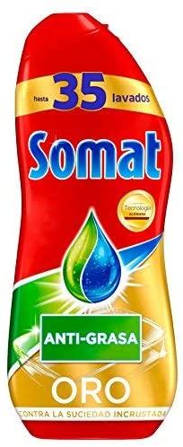 Somat Oro. Los mejores detergentes para lavavajillas por menos de 10 euros