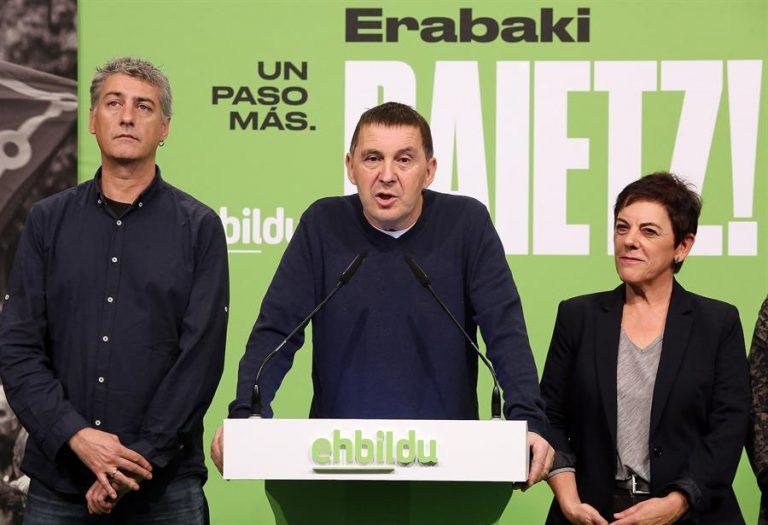 EH Bildu destaca que ha logrado 10 millones para el sector aeronáutico y 48 para el ferrocarril