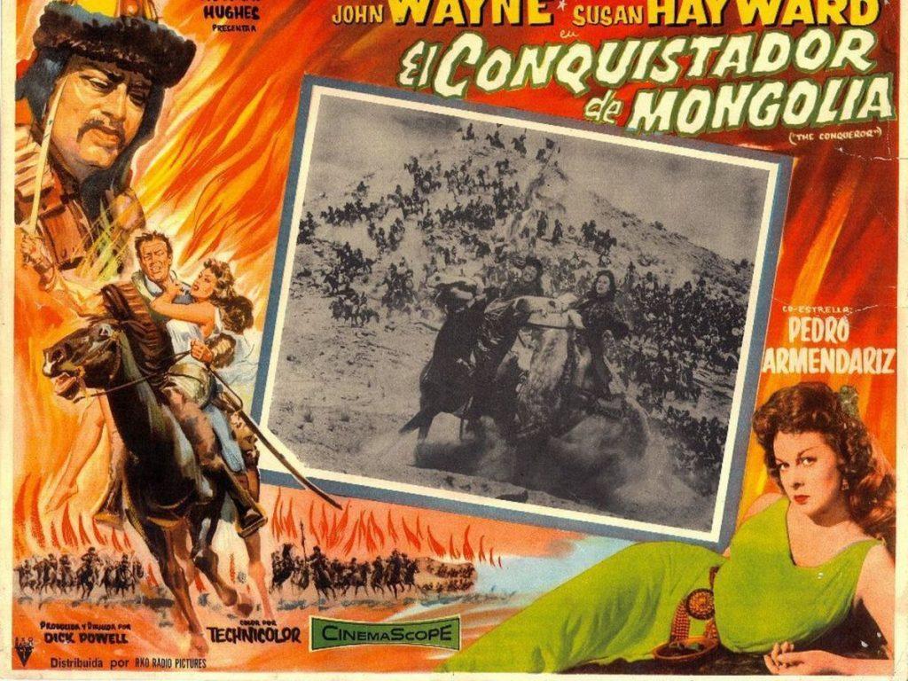La película El conquistador de Mongolia