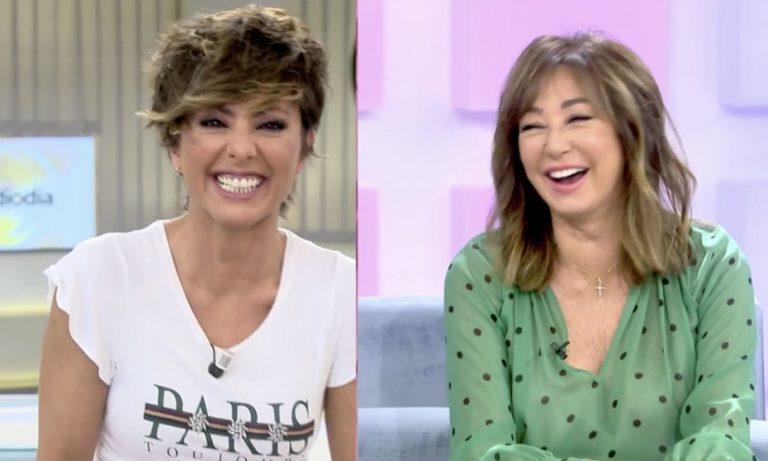 Ana Rosa Quintana, Cristina Pedroche y otros famosos que han sufrido un ataque de risa en pleno directo