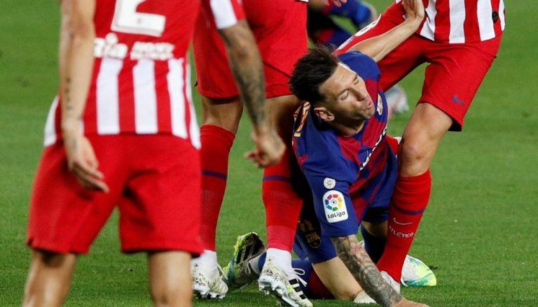 Un Atlético muy solvente vence por la mínima a un Barcelona preocupante
