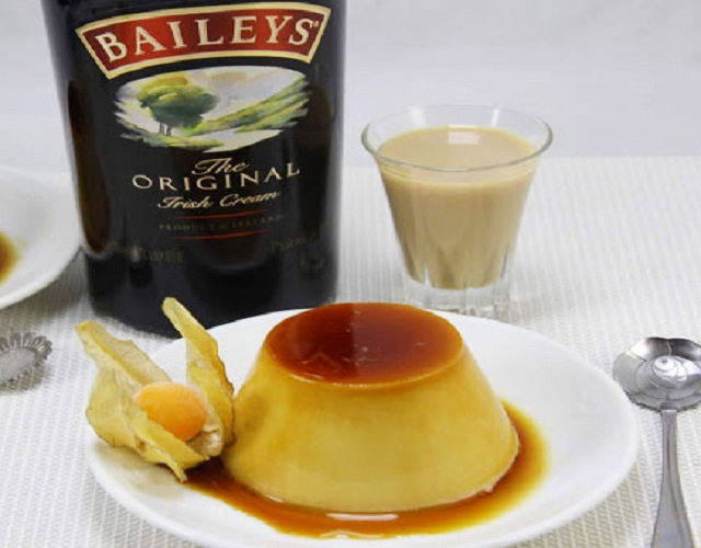 Baileys flan