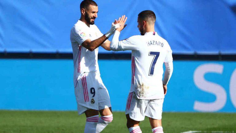Benzema da la victoria al Real Madrid ante el Celta