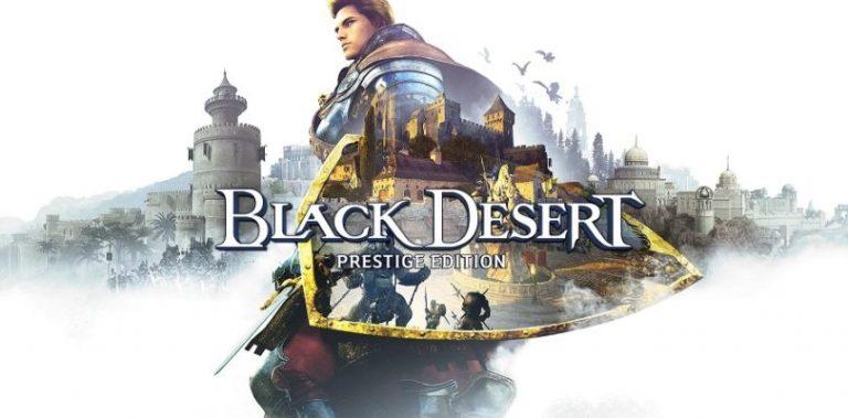 Black Desert: Prestige Edition – La edición física de este título con todo su contenido