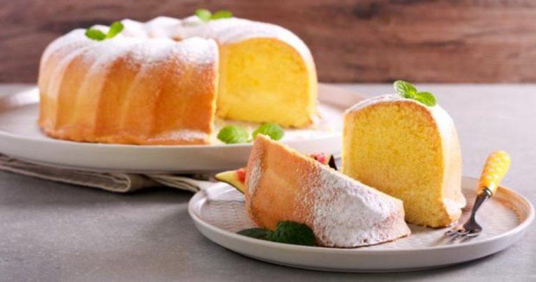 Cómo hacer un bizcocho de limón con pocos ingredientes