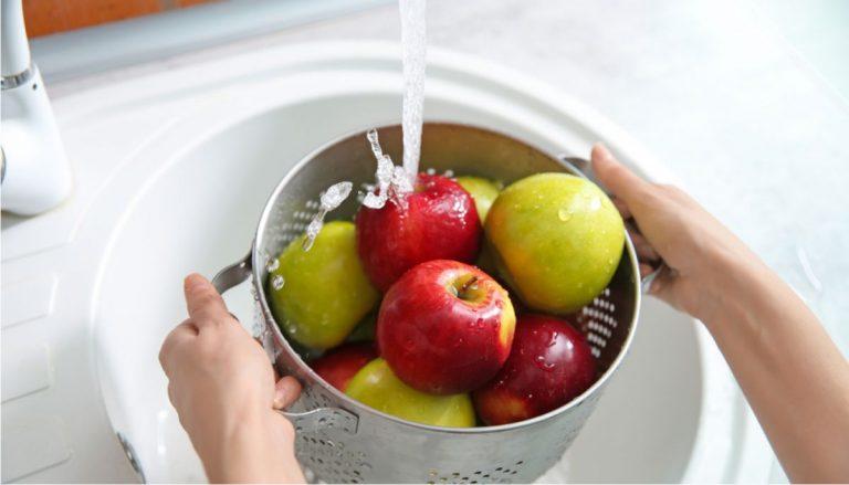 Cómo desinfectar la fruta