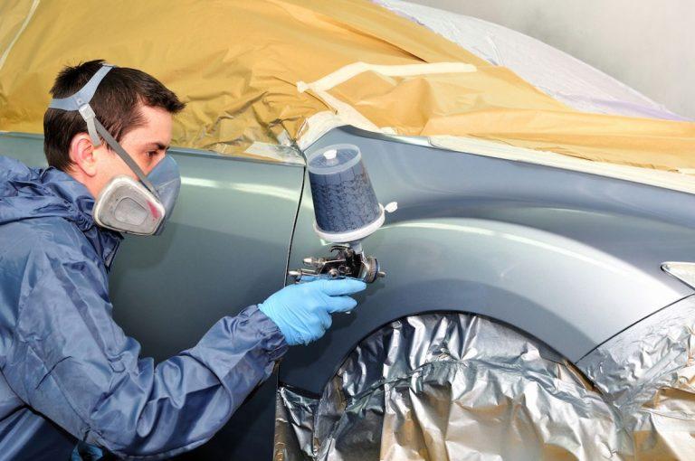 Cómo pintar un coche