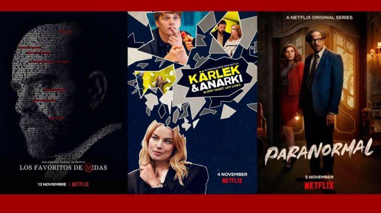 Noviembre de series: 7 estrenos de Netflix que no te puedes perder
