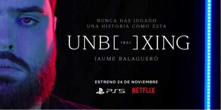 Unboxing, el nuevo cortometraje de Jaume Balagueró e Ibai Llanos