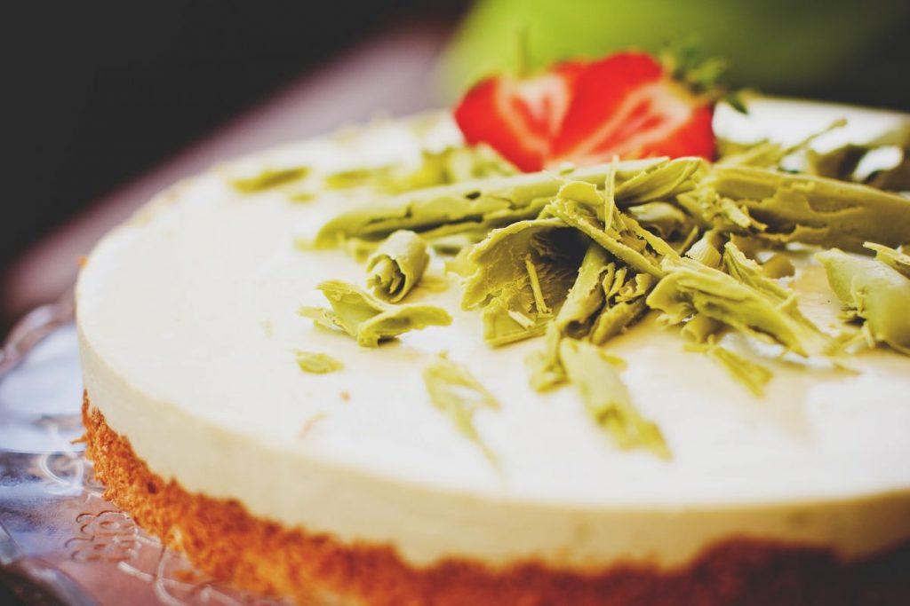 Alternativa vegana para el cheesecake