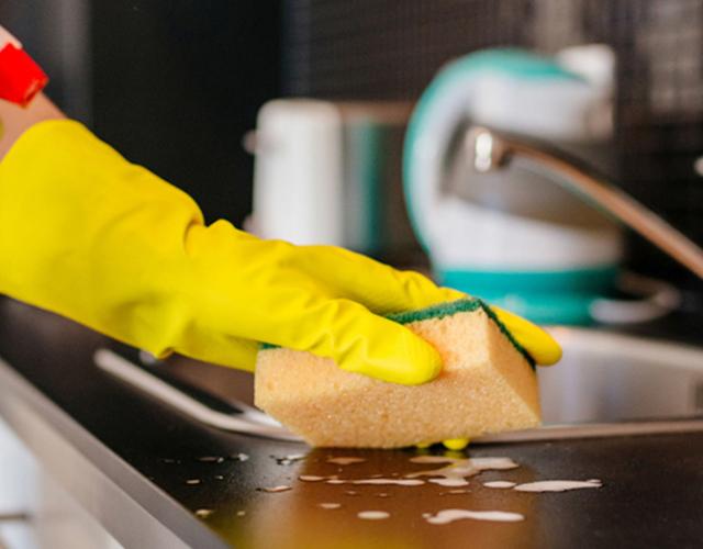 Cocina más bacterias