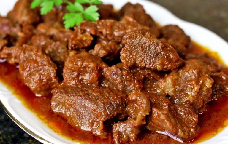 Cómo hacer carne en salsa