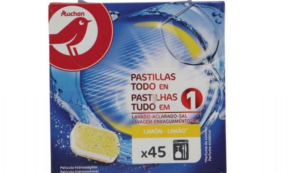 Auchan. Los mejores detergentes para lavavajillas por menos de 10 euros