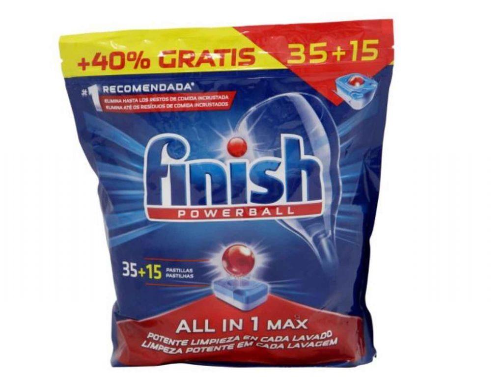 Finish. Los mejores detergentes para lavavajillas por menos de 10 euros