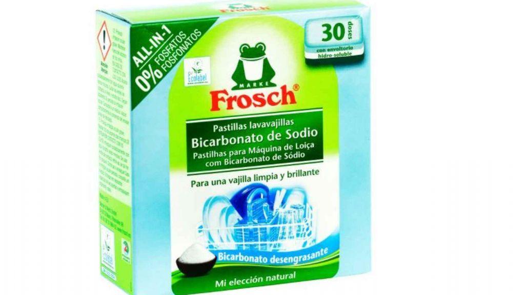 Frosch Bicarbonato de sodio. Los mejores detergentes para lavavajillas por menos de 10 euros