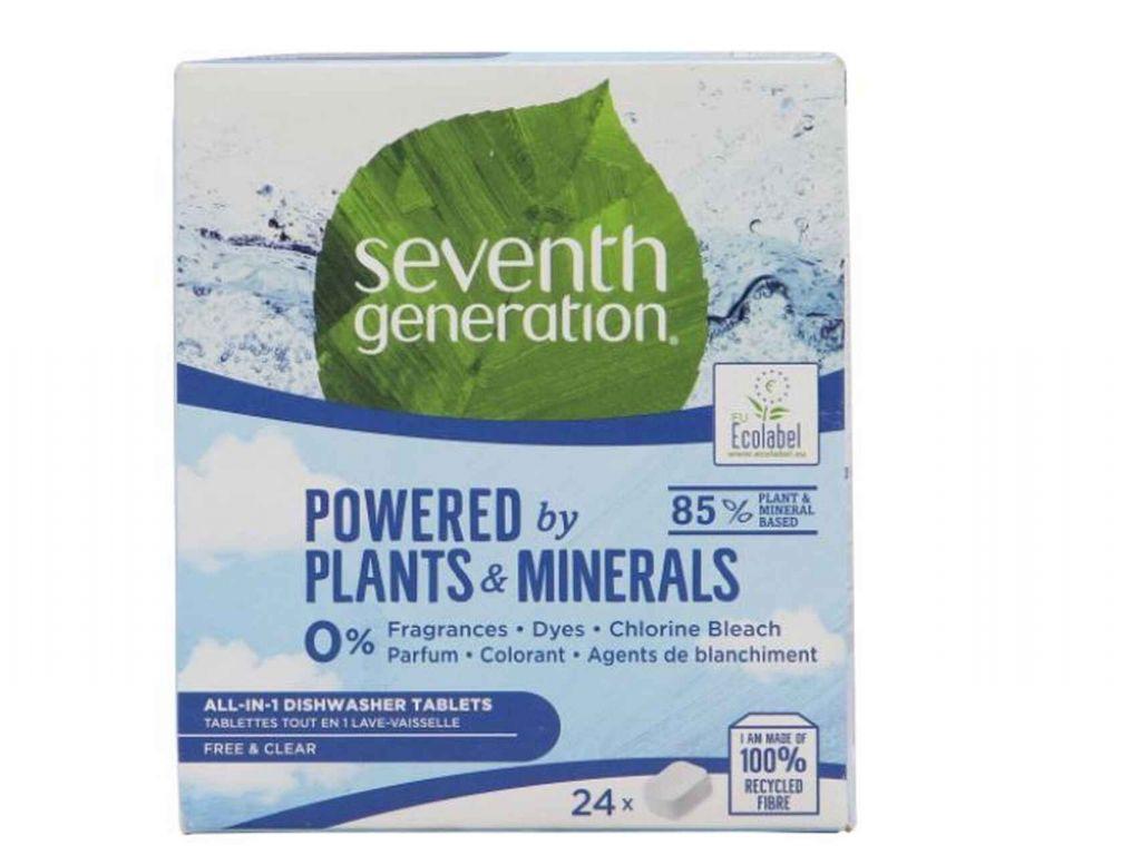 Seventh Generation. Los mejores detergentes para lavavajillas por menos de 10 euros