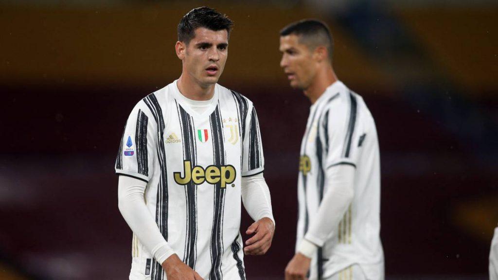 Cristiano Ronaldo y Morata
