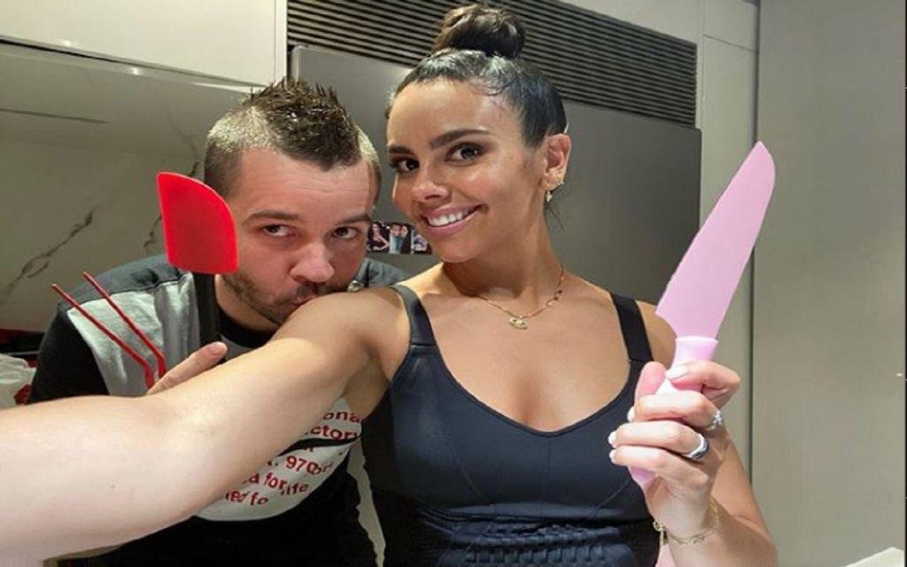 David Muñoz y Cristina Pedroche en su cocina
