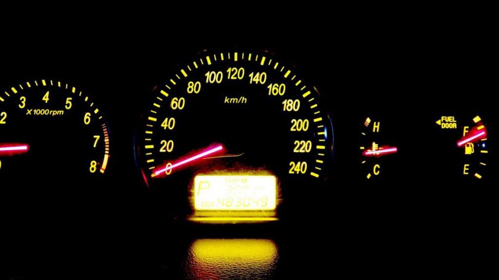 Detalles sobre el velocímetro del coche