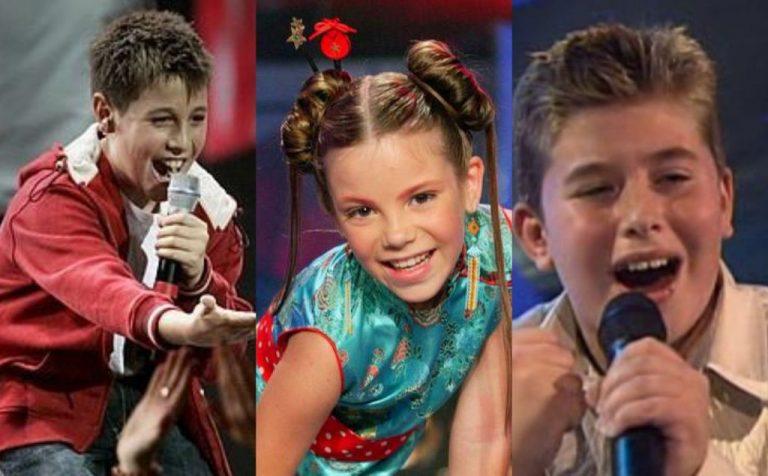 De María Isabel a Melani: Así han cambiado los niños representantes de Eurovisión Junior
