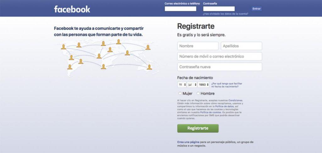 ingresar en Facebook
