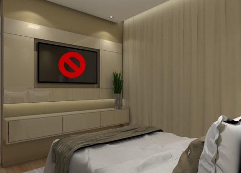 Aparatos electrónicos en cuartos  Feng Shui