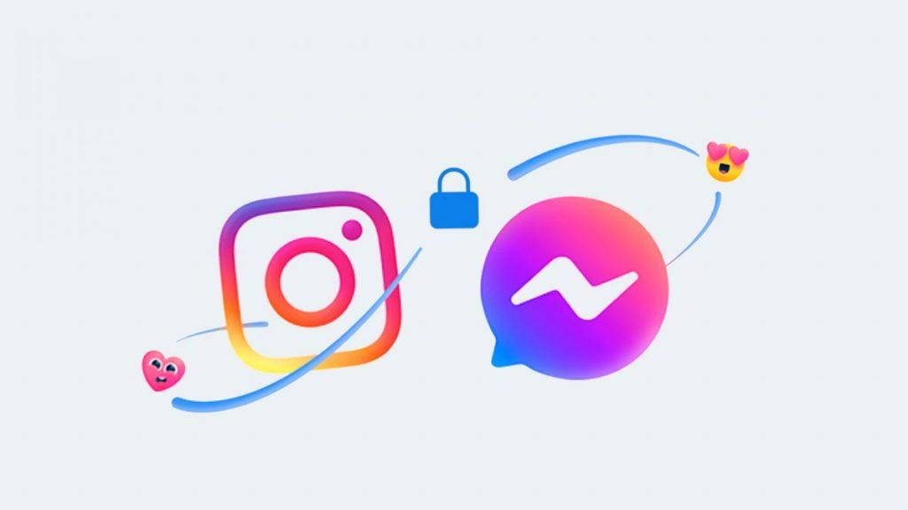 Fusion Instagram y Facebook Messenger