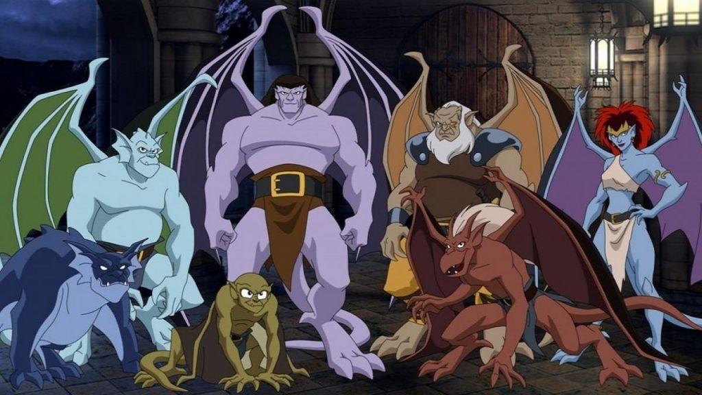 Las razones por las que se canceló la serie Gargoyles