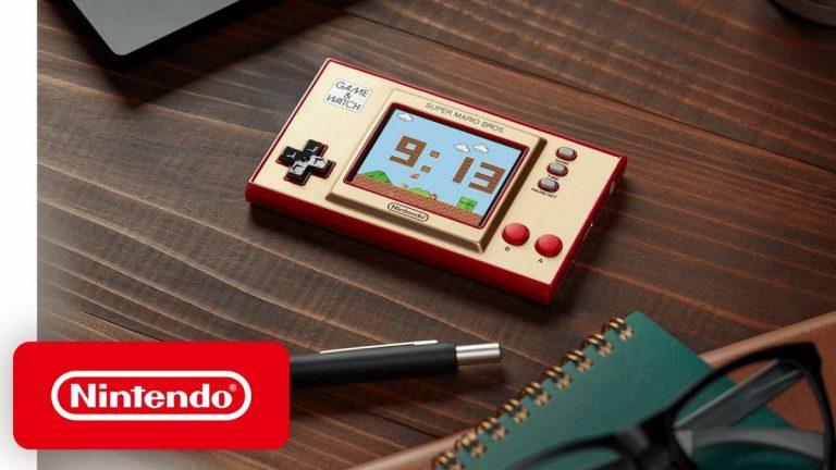 Nintendo Game&Watch: Super Mario Bros – Viajamos a los años 80