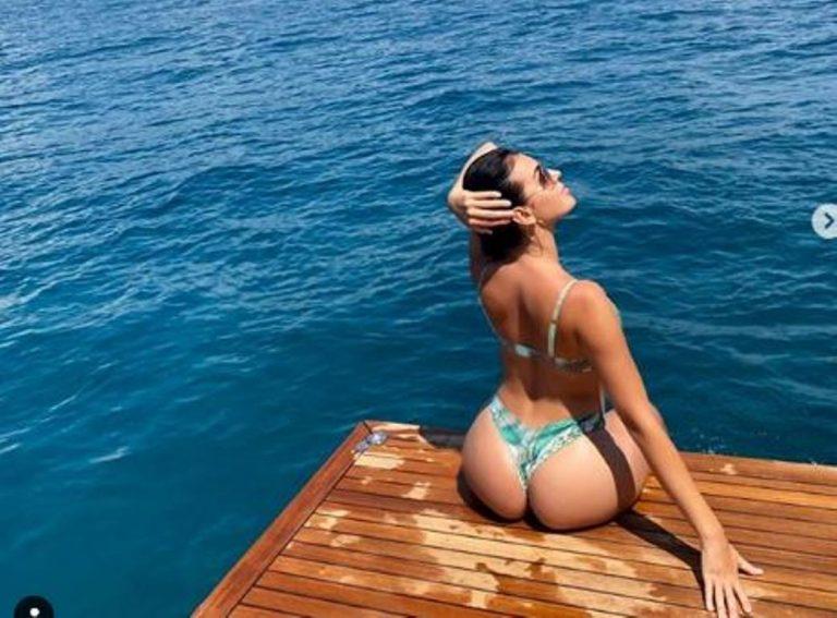 Cuando el trasero de Georgina Rodríguez rompió Instagram