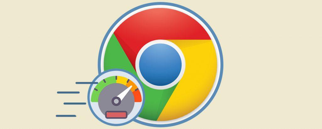 Carga de contenido Google chrome