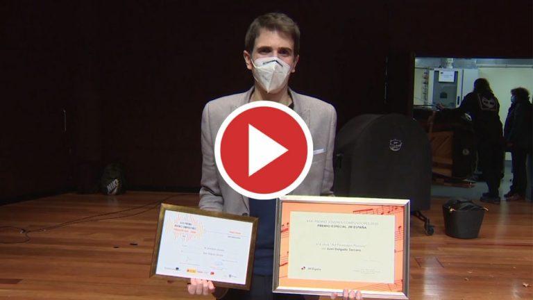 Juan Delgado Serrano, ganador del Premio Jóvenes Compositores 2020