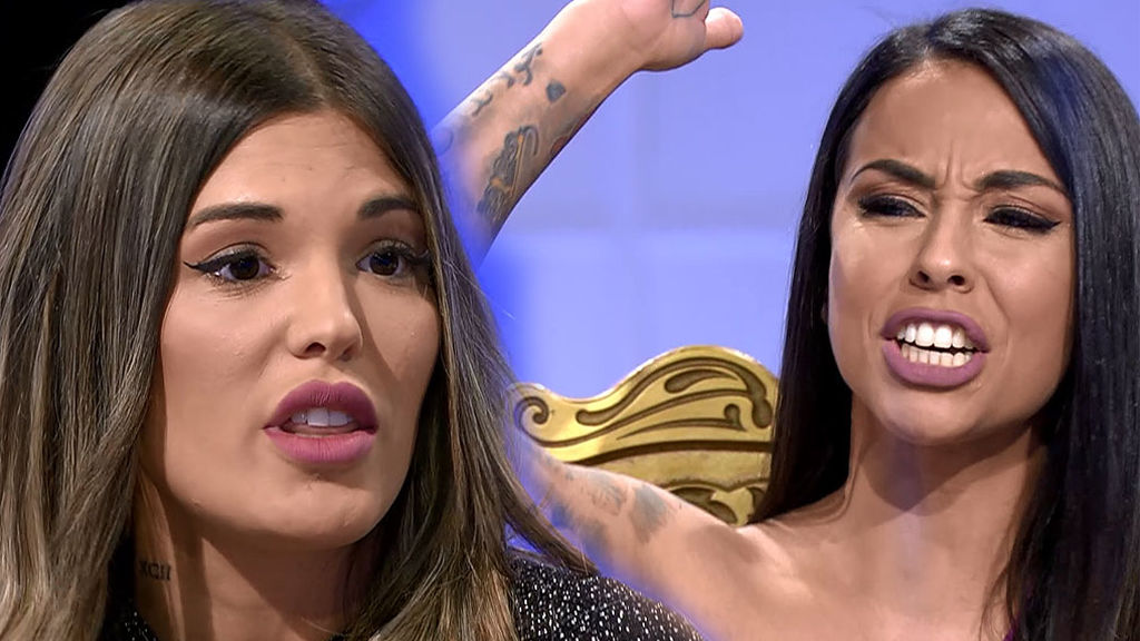 La pelea de Nerea y Nuria en MYHYV