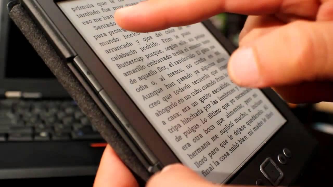 Lectores de libros electrónicos