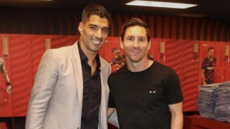Luis Suárez tensa a Messi contándole lo que le espera al Barcelona