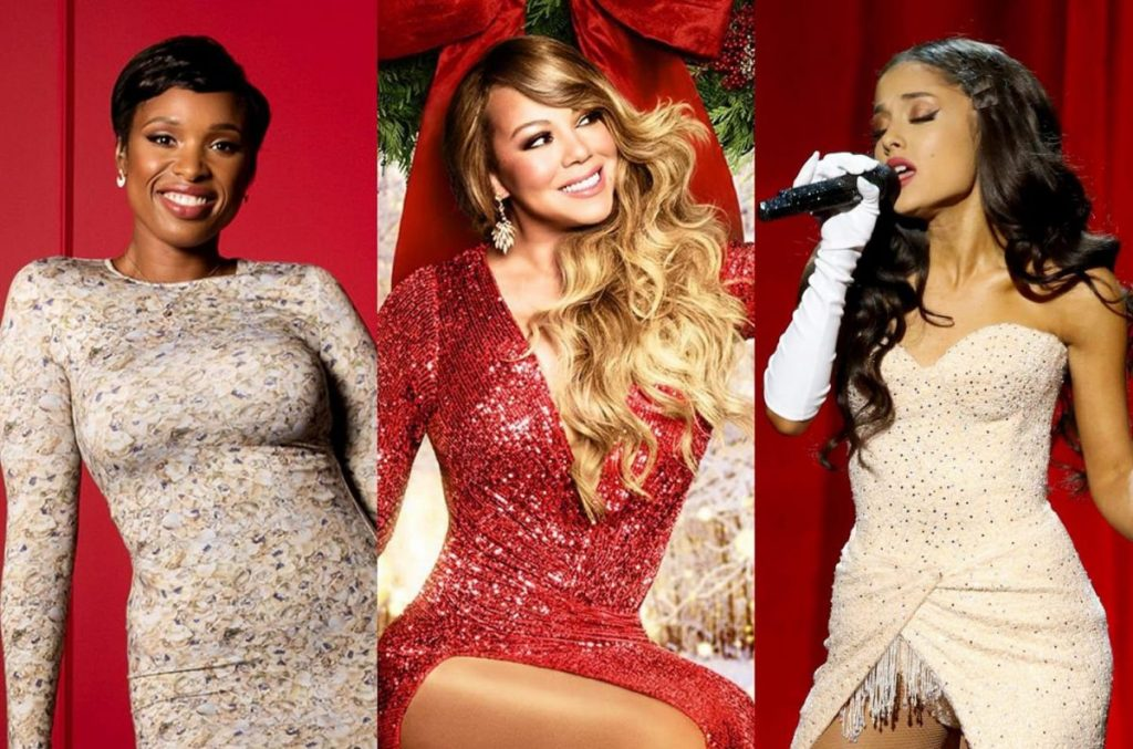 Especial de Navidad mágica de Mariah Carey Ariana Grande Jennifer Hudson ¡Oh santa!  Mariah Carey