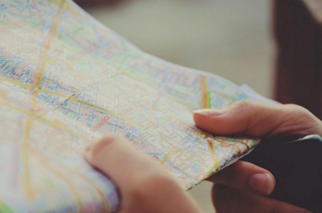 Mapa cartogáfico - cartografía