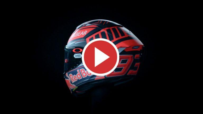 Marc Márquez presenta su nuevo casco