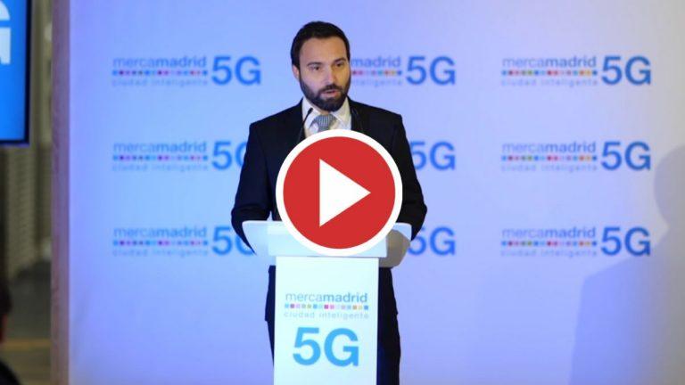 Mercamadrid enciende el primer nodo empresarial 5G de España